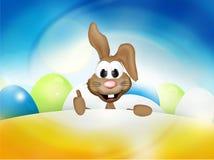 Joyeuses Pâques Bunny Easter Time Photos stock