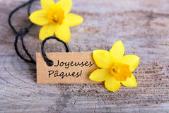 Joyeuses P�ques Stock Photography