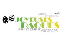 Joyeuses paques Stock Images