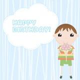 Joyeux anniversaire de félicitation Image stock
