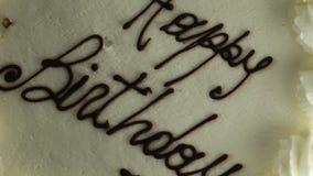 Joyeux anniversaire de gâteau clips vidéos