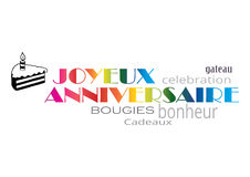 Joyeux anniversaire Royalty Free Stock Photos