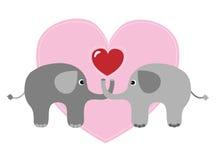 Joyeux anniversaire ou jour de valentines Images libres de droits