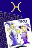 Joyeux anniversaire - signe de zodiaque Photo stock