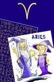 Joyeux anniversaire - signe de zodiaque Photo libre de droits