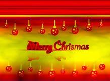 Joyeux Chrismas 3d Image libre de droits