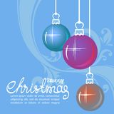 Joyeux christmas-04 Photos stock