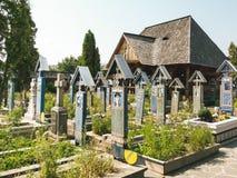 Joyeux cimetière Images stock