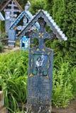 Joyeux cimetière de Sapanta photographie stock libre de droits