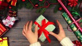 Joyeux concept de réveillon de Noël et de bonne année clips vidéos