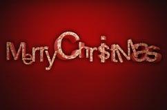 Joyeux cristmas Photographie stock libre de droits