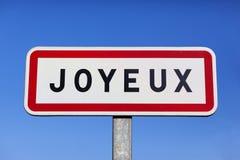 Joyeux Stock Image