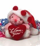 Joyeux MAS heureux de X et poupée mignonne Photo stock