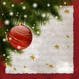 Joyeux Noël 2 Images libres de droits