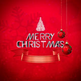Joyeux Noël Images libres de droits