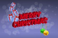 Joyeux Noël Image stock