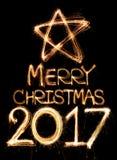 Joyeux Noël 2017 Image libre de droits