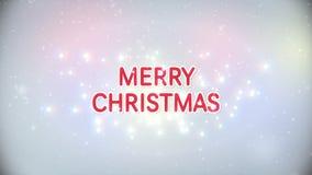 Joyeux Noël avec la neige illustration libre de droits