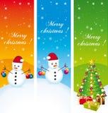 Joyeux Noël. Bannières verticales. Image stock