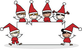 Joyeux Noël bonnes fêtes Images stock