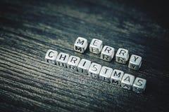 Joyeux Noël d'inscription photos stock
