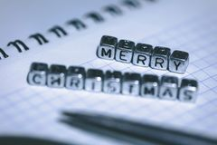 Joyeux Noël d'inscription photos libres de droits