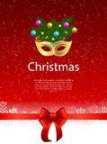 Joyeux Noël de beauté abstraite et fond de partie de nouvelle année Photographie stock