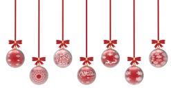 Joyeux Noël de fond Photos libres de droits