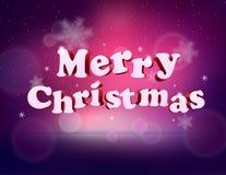 Joyeux Noël ENV des vacances 3D Image stock