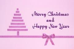 Joyeux Noël et bonne année images libres de droits