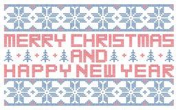 Joyeux Noël et bonne année photos stock