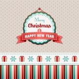 Joyeux Noël et bonne année illustration de vecteur