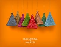 Joyeux Noël et bonne année Photographie stock libre de droits