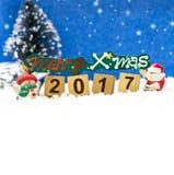 Joyeux Noël et bonne année Photographie stock