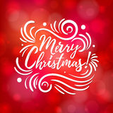 Joyeux Noël et bonne année Photos libres de droits