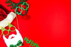 Joyeux Noël et fond heureux de la nouvelle année 2019 image stock