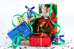 Joyeux Noël et an neuf heureux ! Photographie stock libre de droits