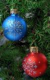 Joyeux Noël et an neuf heureux Images libres de droits