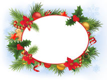 Joyeux Noël et an neuf heureux Photo stock