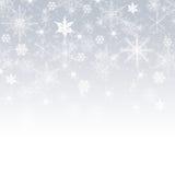 Joyeux Noël - flocons de neige image stock