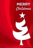 Joyeux Noël heureux, vacances, cadre, Joyeux Noël heureux Photos libres de droits