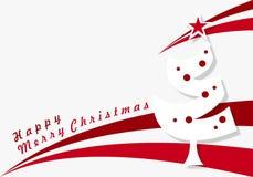 Joyeux Noël heureux, vacances, cadre, Joyeux Noël heureux illustration de vecteur