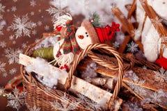 Joyeux Noël, nouvelle année Photographie stock