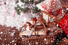 Joyeux Noël, nouvelle année Image libre de droits