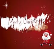 Joyeux Noël Santa Photographie stock libre de droits