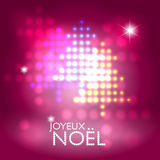 Joyeux Noël Stock Photography