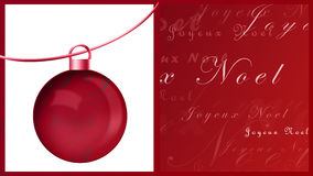 Joyeux noel Royalty Free Stock Photos