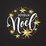 Joyeux noel french merry christmas golden star decoration joyeux noel french merry christmas golden star decoration and calligraphy font for xmas holiday invitation greeting stopboris Gallery
