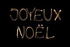 Joyeux Noel Royalty Free Stock Image