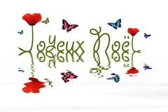Joyeux noel Royalty Free Stock Photo